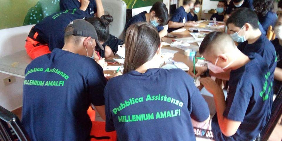 campi di volontariato PA Millenium Amalfi